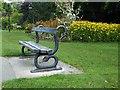 SE2954 : Serpent bench by Steve  Fareham
