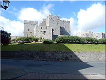SC2667 : The castle in Castletown by Stephen Darlington