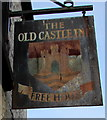 SO2603 : Old Castle Inn name sign, High Street, Abersychan by Jaggery
