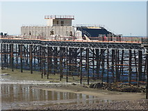 TQ8109 : New structure, Hastings Pier by Oast House Archive