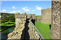 SH6076 : The Outer Curtain Wall of Beaumaris Castle by Jeff Buck