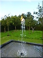 TF7828 : Waterflame at Houghton Hall, Norfolk - Photo 3 of 3 by Richard Humphrey