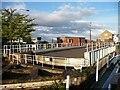 SE8311 : Keadby swingbridge, open by Christine Johnstone