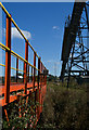 SE9720 : Bridge and conveyor, South Ferriby by Paul Harrop