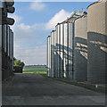 TL5546 : Camgrain silos by John Sutton