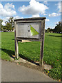 TQ5993 : Shenfield Common Map on Shenfield Common by Adrian Cable