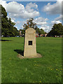 TQ5993 : Monument on Shenfield Common by Adrian Cable