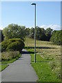 NZ3663 : Path in Temple Memorial Park by Oliver Dixon