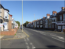 NZ3664 : Stanhope Road, South Shields by Oliver Dixon