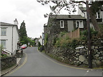 NY3704 : Ambleside – Kirkstone Road – looking up by Peter S