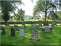 NY4826 : South side, St Michael's churchyard, Barton by Christine Johnstone
