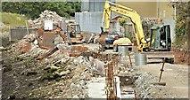 J3674 : Connswater path works, Belfast - October 2015(1) by Albert Bridge