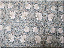 "TQ3180 : William Morris ""Pimpernel"" wallpaper, Two Temple Place by David Hawgood"