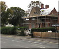 SP2764 : Stratford Road house roofing work, Warwick by Jaggery