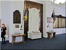 TQ3380 : War memorials, Custom House London by David Hawgood