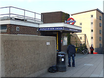 TQ3882 : Bromley by Bow Station by Stephen McKay