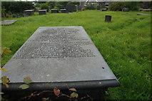 SH4239 : Bedd John Watkins - The grave of John Watkins by Alan Fryer