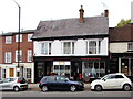 SP2764 : Westgate Barber Shop and the Old Post Office, West Street, Warwick by Jaggery