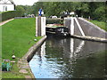 TQ0586 : Canal boat Southern Jack's leaves Denham Lock by David Hawgood
