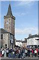 NO1101 : Street party, Kinross by William Starkey