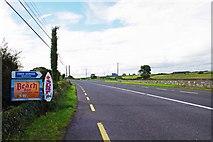G5333 : N59 road at Massreagh, Skreen, Co. Sligo by P L Chadwick