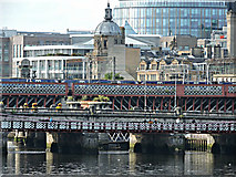NS5864 : The River Clyde at Glasgow by Thomas Nugent
