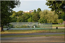 TQ3005 : Tennis court, Preston Park by N Chadwick