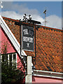 TM2363 : The Old Brewery sign by Adrian Cable
