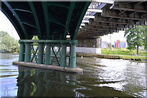 TL1998 : Great Northern Bridge No.184 over the River Nene by N Chadwick