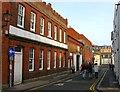 TQ3104 : Gloucester Mews, Gloucester Road, Brighton by Simon Carey