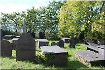 SH5066 : Mynwent Eglwys y Santes Fair St Mary's Church graveyard by Alan Fryer