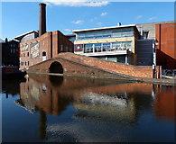 SP0686 : Regency Wharf in the Gas Street Basin by Mat Fascione