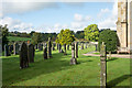 NY8577 : Cemetery at St. Michael's Church, Wark by Trevor Littlewood