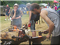 SP9210 : The blacksmith at work in Tring Park by Chris Reynolds