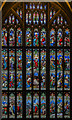 SO8318 : West window, Gloucester Cathedral by Julian P Guffogg