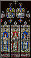SO8318 : Window n.V, Gloucester Cathedral by Julian P Guffogg