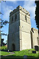 SP4604 : St Michael's Church tower by Roger Templeman