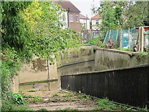 TQ2992 : Pymme's Brook west of Wilmer Way, N14 by Mike Quinn