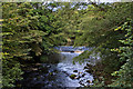 SD5152 : A weir on the River Wyre taken from Street Bridge by Ian Greig