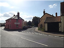 TM1763 : Low Road, Debenham by Adrian Cable