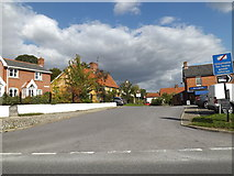 TM1763 : Cross Green, Debenham by Adrian Cable