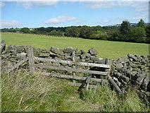 SE0421 : Stile on Sowerby Bridge FP133 by Humphrey Bolton