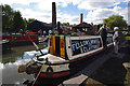 SO9491 : Steam narrow boat by Ian Taylor