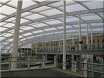 SJ8499 : Manchester Victoria station: new roof by Stephen Craven