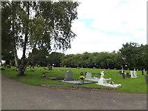 TM1763 : Debenham Cemetery by Adrian Cable