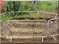 SU4886 : Fence round the Hole by Bill Nicholls