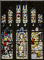 SO8318 : Gloucester Cathedral, Stained glass window by Julian P Guffogg