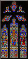 SO8318 : Window s.IX, Gloucester Cathedral by Julian P Guffogg