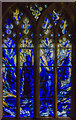 SO8318 : Stained glass window, Gloucester Cathedral by Julian P Guffogg