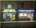 J5081 : Take-away restaurants, Bangor by Rossographer
